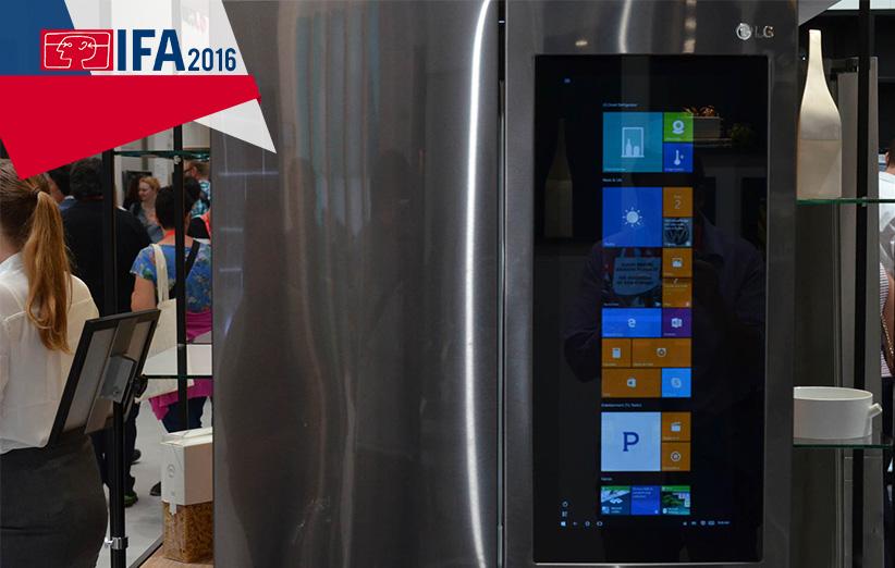 یخچال مجهز به ویندوز 10